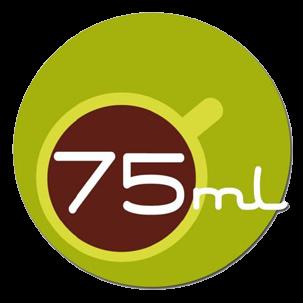 75 ml logo